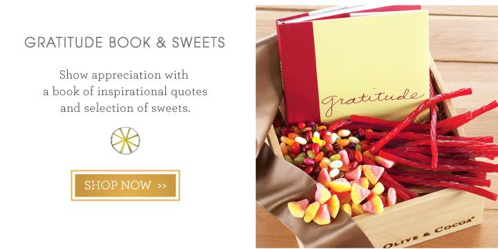 Gratitude Book & Sweets