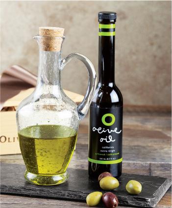 Gourmet Olive Oil & Cruet Set