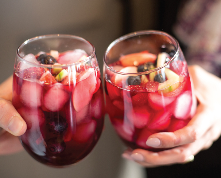 Snappy Spring Berry Punch: Olive & Cocoa