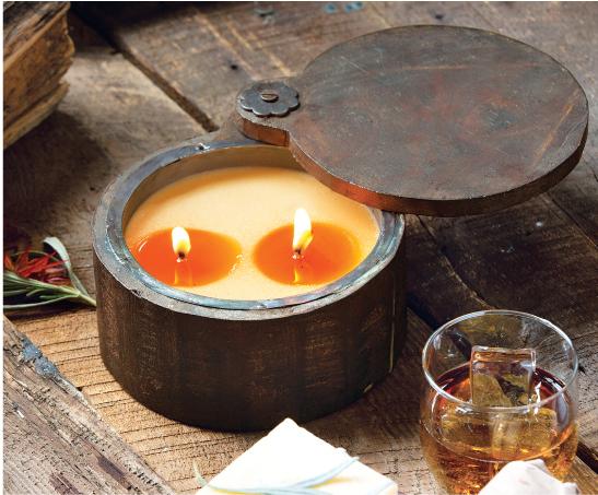Sage & Pomegranate Wood Candle