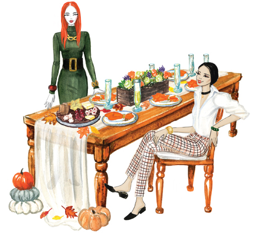 Design a Stunning Thanksgiving Tablescape