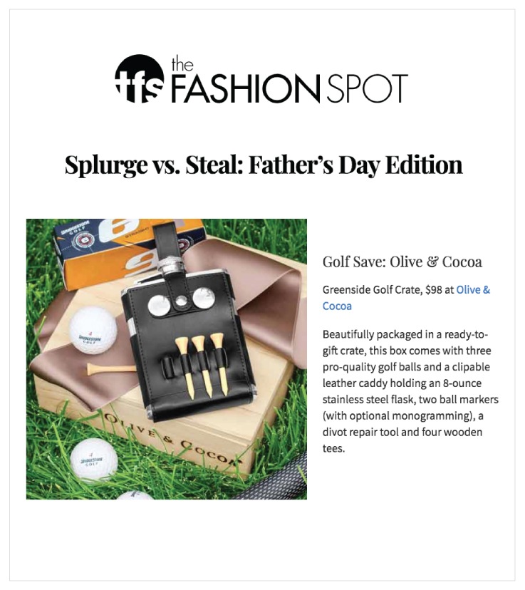 As Seen In The Fashion Spot 20180601