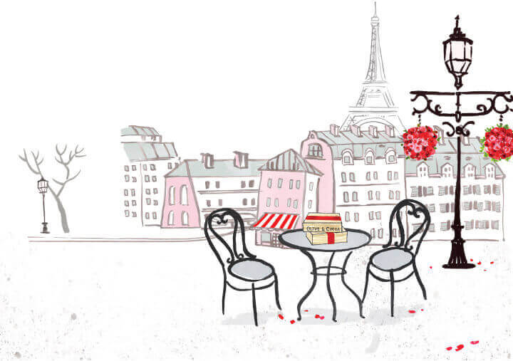 Why is Paris the City of Love: Olive & Cocoa