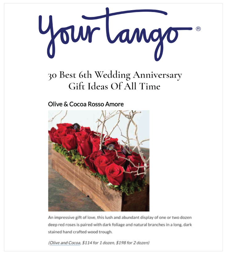 Rosso Amore in YourTango 20190729