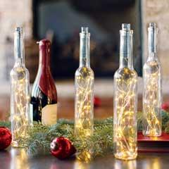 Twinkling Bottle Lights