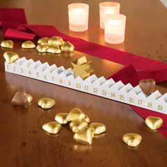 Golden Star Advent Calendar