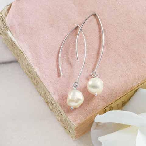 Empress Baroque Pearl Earrings