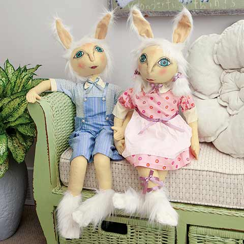 Hansel & Loralei Rabbits