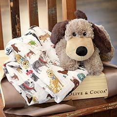 Cuddle Dog & Swaddle