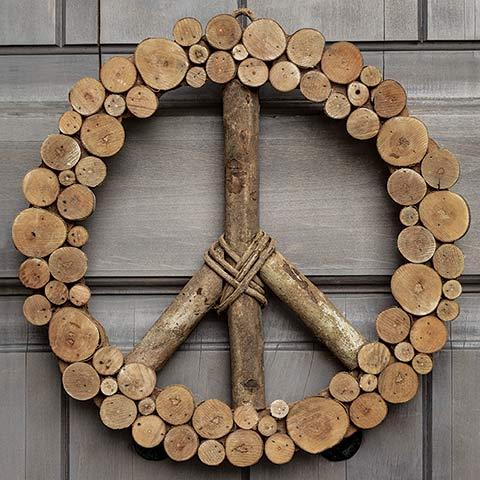 Peaceful Woods Wreath