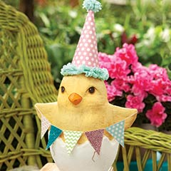 Spring Surprise Easter Chick