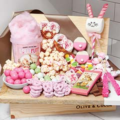 Pastel Pink Sweets Crate