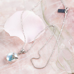 Delicate Dragonfly Pearl Necklace
