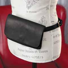Classic Leather Belt Bag