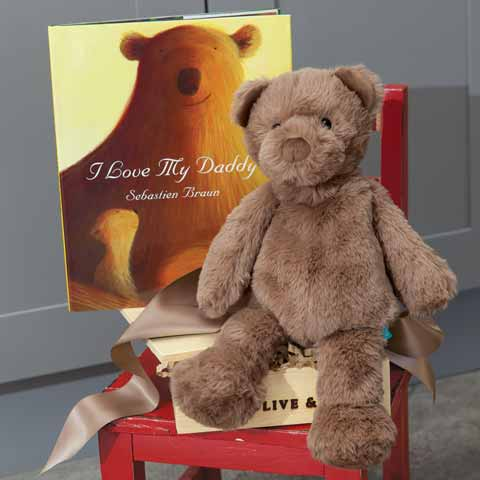 """""""I Love My Daddy"""" Book & Bear"""