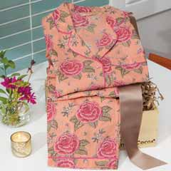 Peach & Rose Pajamas