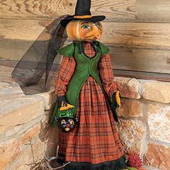 Olena Pumpkin Witch