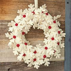 Festive Norwegian Wreath