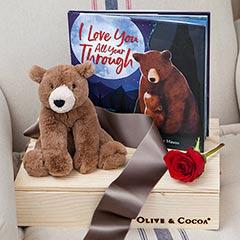 """I Love You"" Bear & Storybook"
