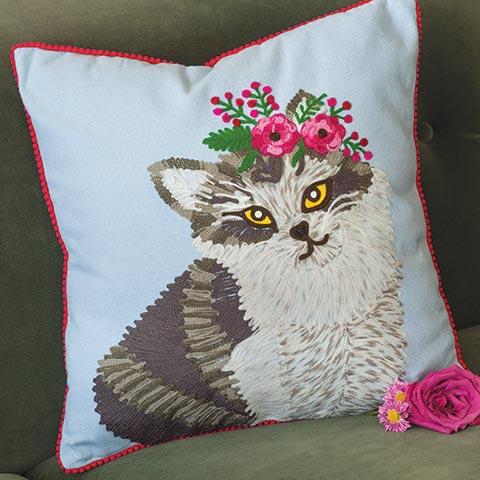 Princess Kitty Pillow