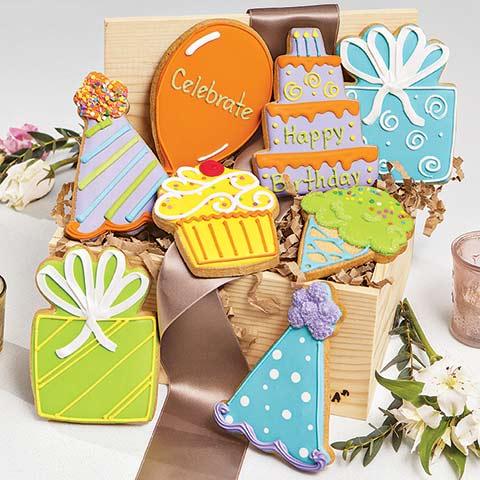 """""""Happy Birthday"""" Cookies"""