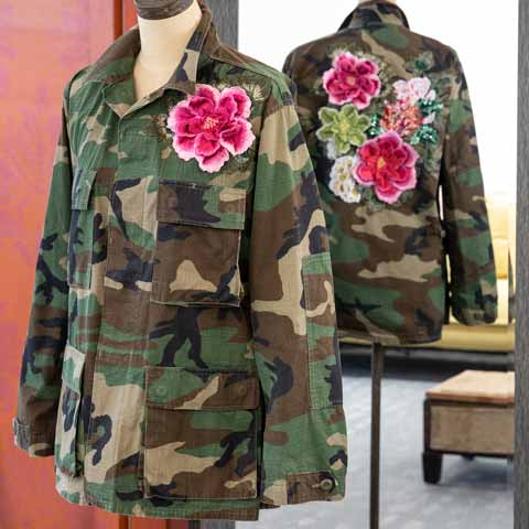 Boho Camo Jacket