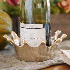 Gold Crown Wine Coaster
