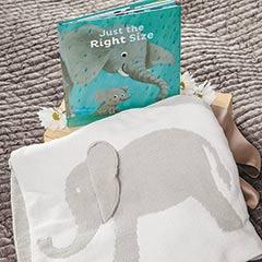 Elephant Blanket & Storybook