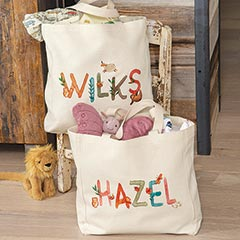 Personalized Name Tote
