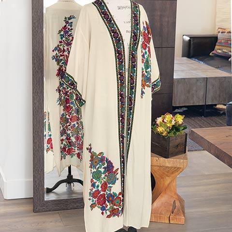 Garden Tapestry Kimono