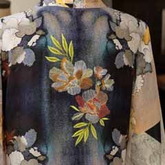 Jardin Embroidered Kimono