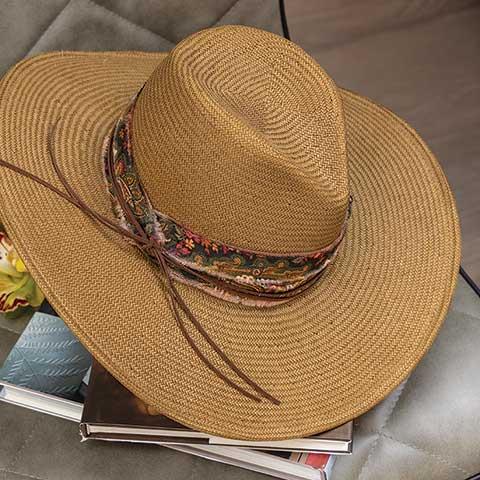 South Beach Straw Hat