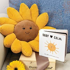 """Baby Calm"" & Sunflower"