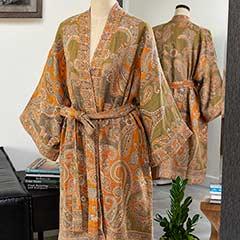 Couture Paisley Kimono