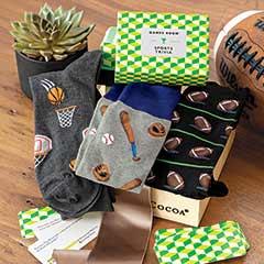 """""""Game On"""" Socks & Trivia"""
