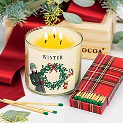 Winter Candle Set