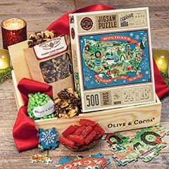 Holiday Puzzle & Treats