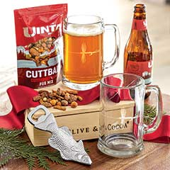 Fly Fishing Pub Crate