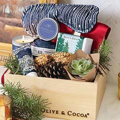 Blue Spruce Spa Crate