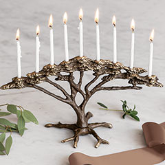 Branch & Bronze Menorah