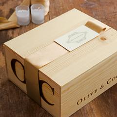 Goji & Tarocco Orange Candle Crate