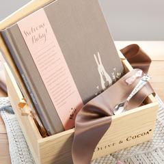 Heirloom Baby Girl Book & Spoon