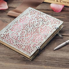 Filigree Hinged Journal