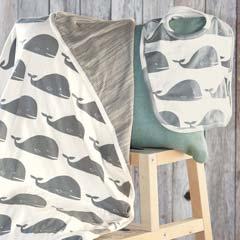 Little Moby Stroller Blanket & Bib