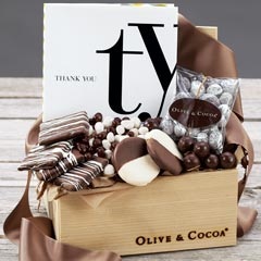 Thank You Book & Chocolates