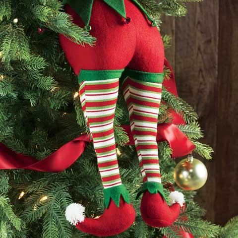 Merriest Elf Legs