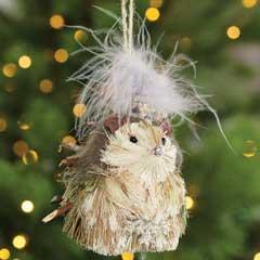 Fanciful Hedgehog Ornament