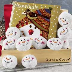 Snowballs & Storybook Play Set