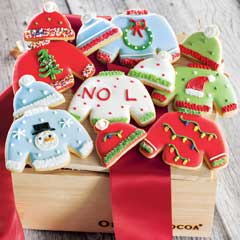 Ugly Sweater Frosted Cookies