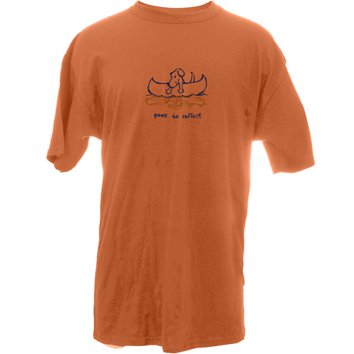 Beyond The Pond Adult Paws To Reflect Garment Dye Short Sleeve T-Shirt
